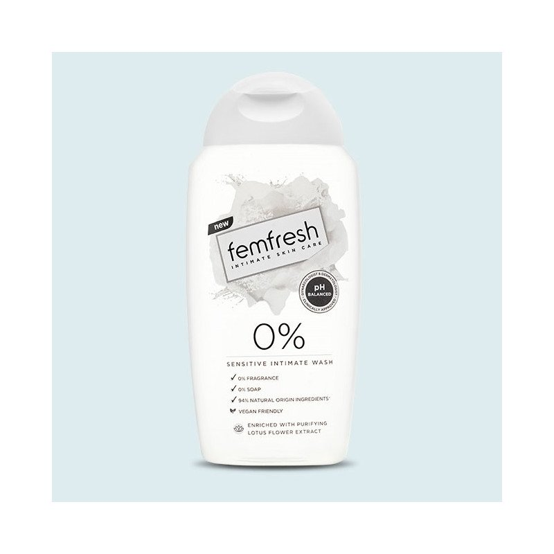 Femfresh Sensitive Intimate 0% Wash 250ml