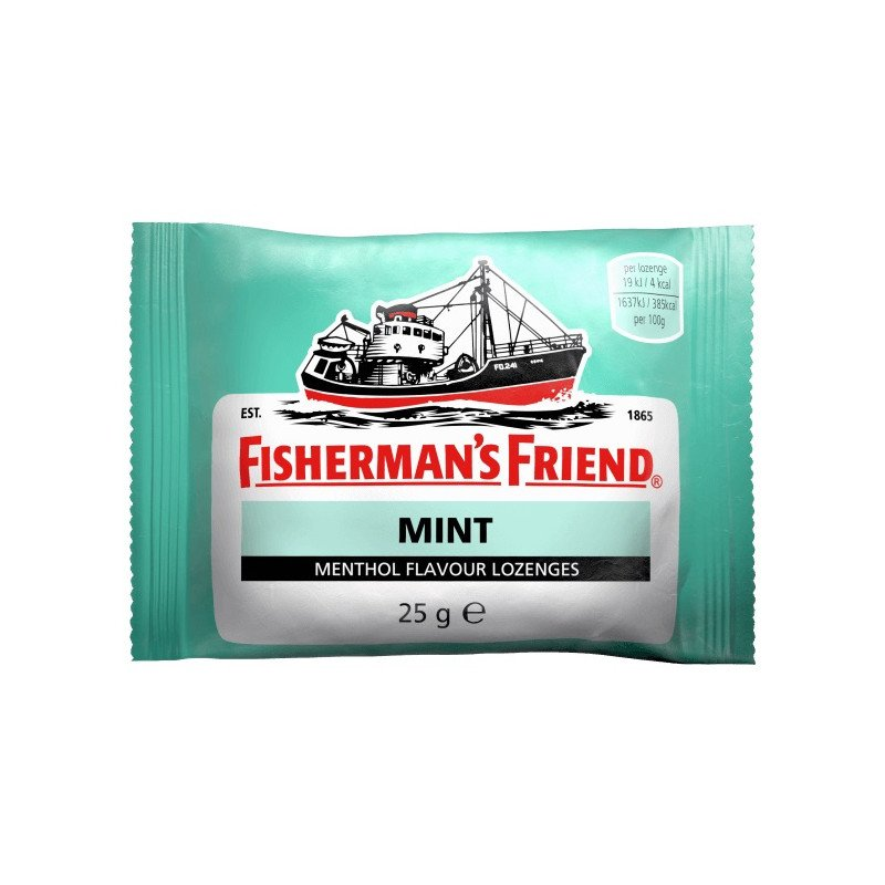 FISHERMAN'S FRIEND lozenges mint s/f 25g
