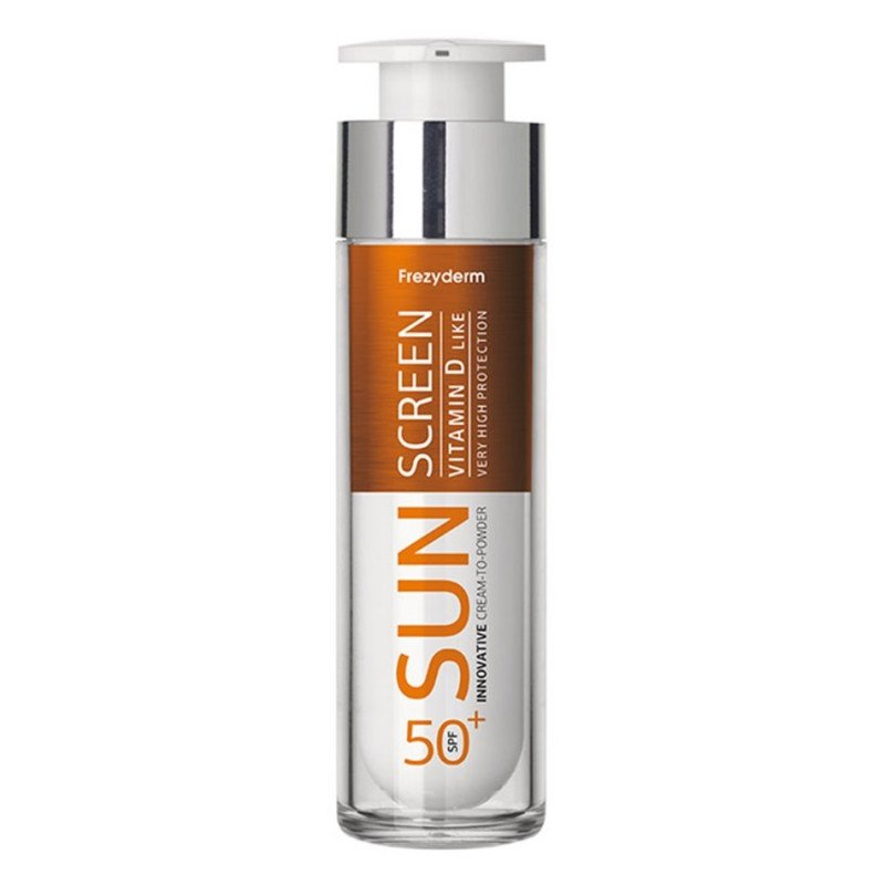 FREZYDERM - SUN SCREEN Cream to Powder Vitamin D Like SPF50+