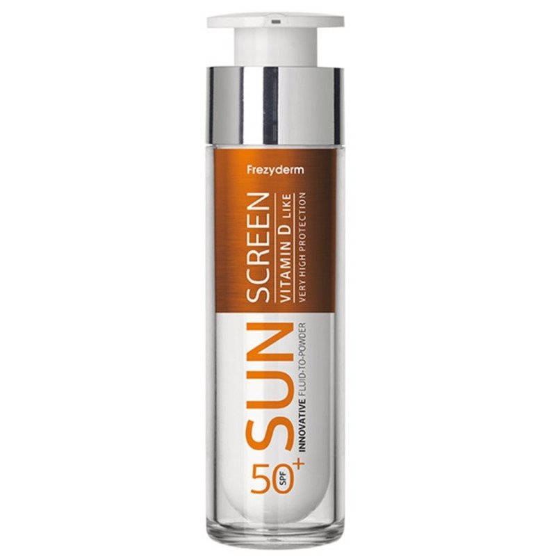 Frezyderm Sun Screen Vitamin D Like Fluid-to-powder SPF50+ 50 ml