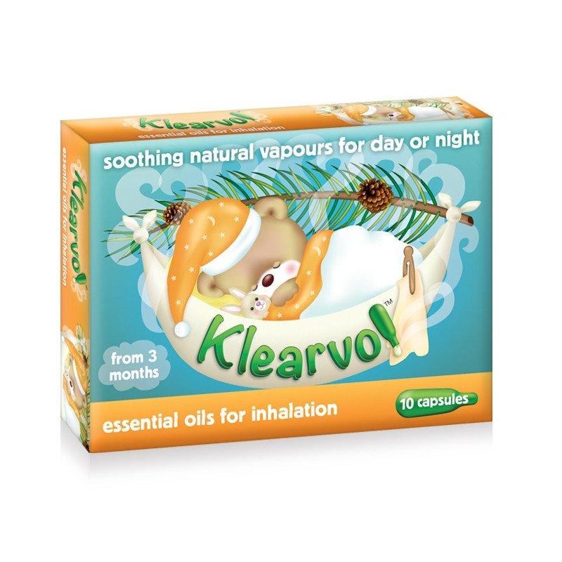 Klearvol essential oil capsules 10 pack