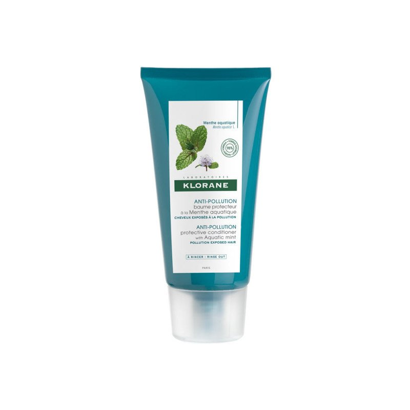 Klorane Anti-Pollution Protective Conditioner with Aquatic Mint 150ml