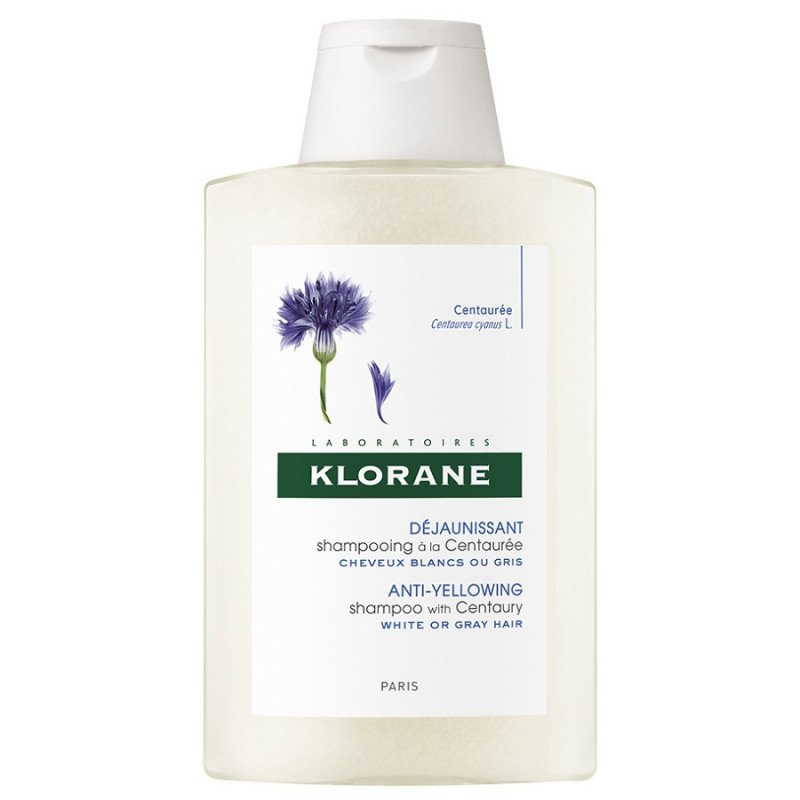 klorane Anti-Yellowing Shampoo With Centaury