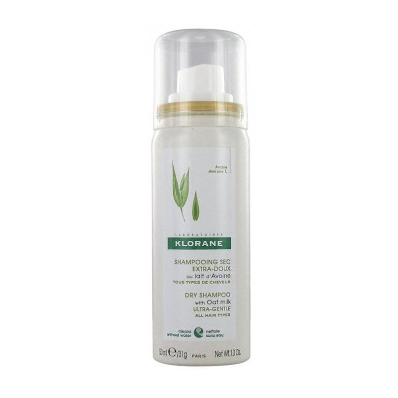 Klorane Gentle Dry Shampoo with Oat Milk Powder Spray 50ml