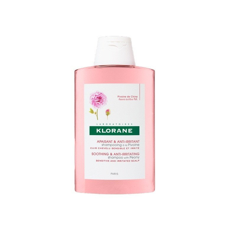 KLORANE Soothing & anti-irritating shampoo with peony