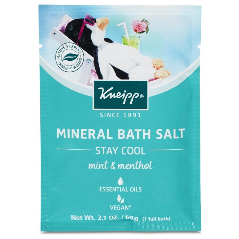 Kneipp Mineral Bath Salt 'Stay Cool' Mint & Menthol
