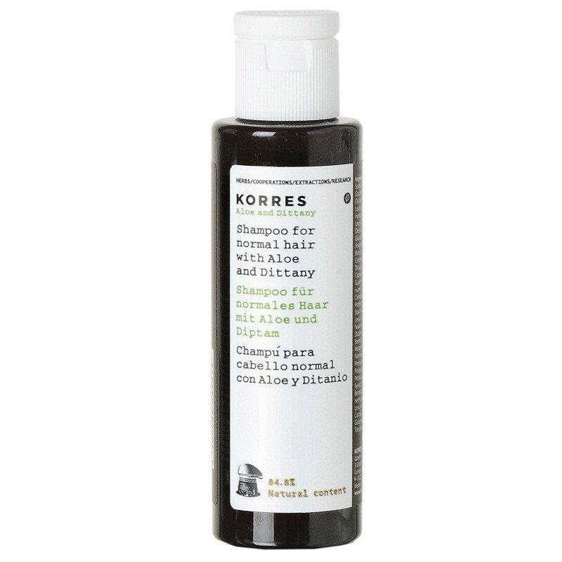 Korres Aloe & Dittany shampoo 40ml