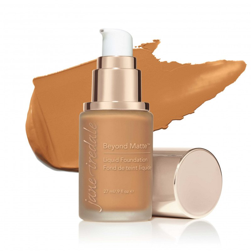Jane Iredale Beyond Matte™ Liquid Foundation - M12 - dark with peach/yellow undertones