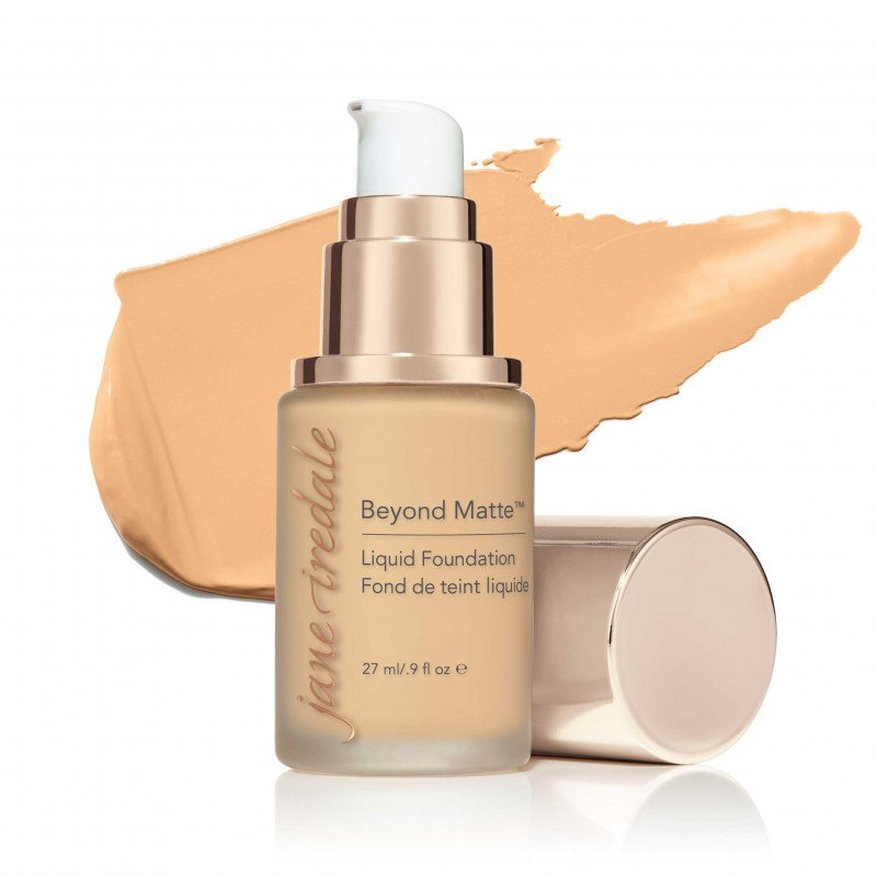 Jane Iredale Beyond Matte™ Liquid Foundation - M5 - light to medium with gold undertones