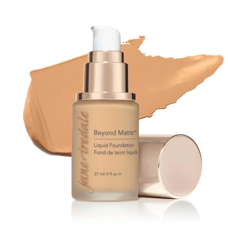Jane Iredale Beyond Matte™ Liquid Foundation - M7 - medium with beige undertones