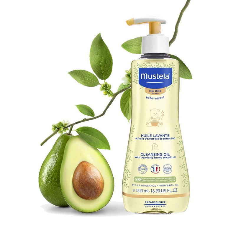 Mustela Cleansing Oil 500ml