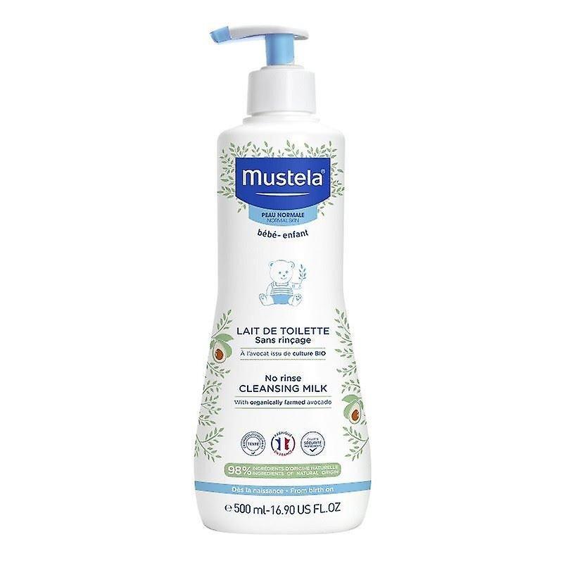 Mustela No Rinse Cleansing Milk 500 ml