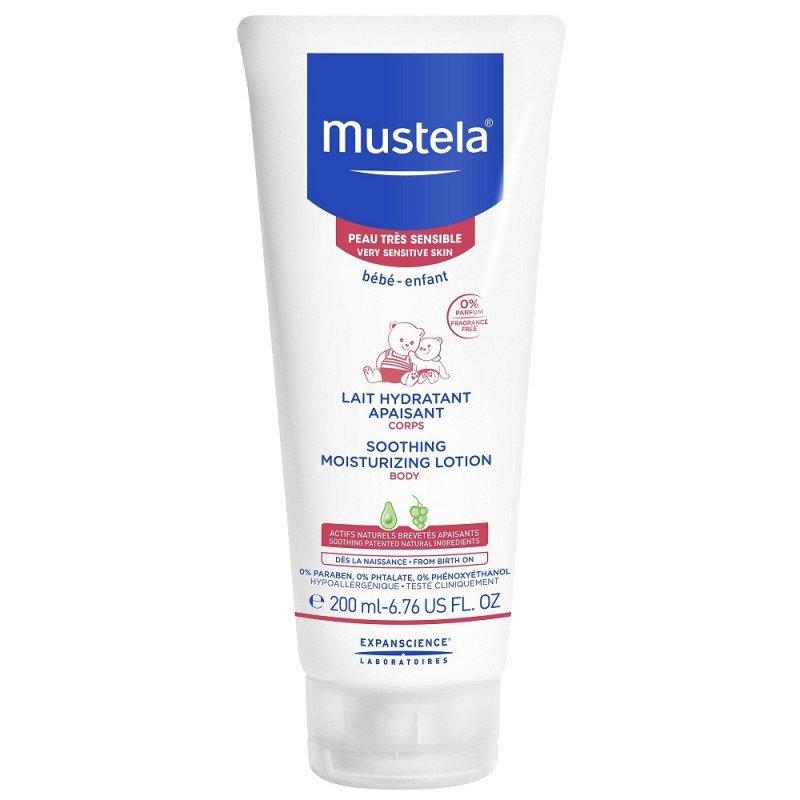 Mustela Soothing moisturising Body lotion 200ml