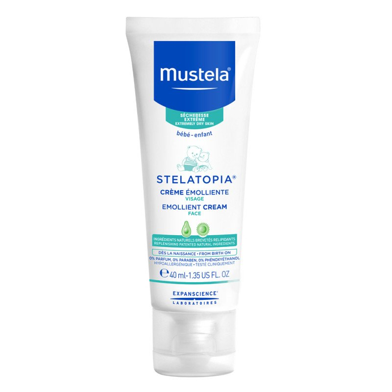 Mustela Stelatopia Emollient Face Cream – 40ml