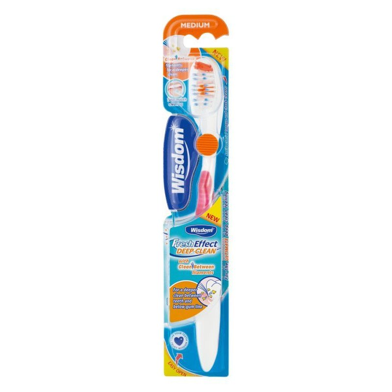 Wisdom fresh effect toothbrush sensitive