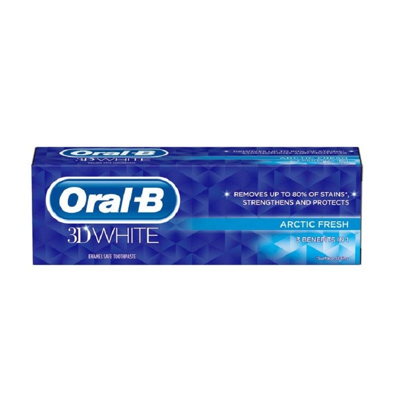 Oral B 3D White Arctic Fresh 75ml