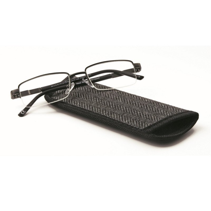 Magnivision Mens Reading Glasses- Peter 1.00