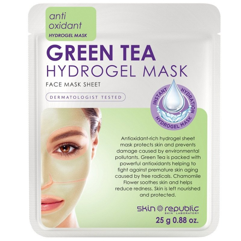 Skin Republic Green Tea Hydrogel Face Mask