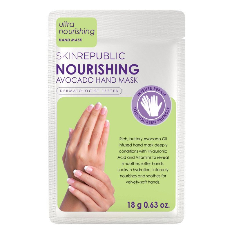 Skin Republic Nourishing Avocado Hand Mask 18g