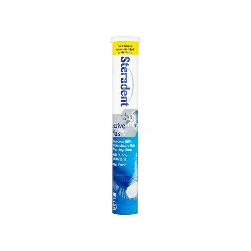 Steradent active plus 30 pack