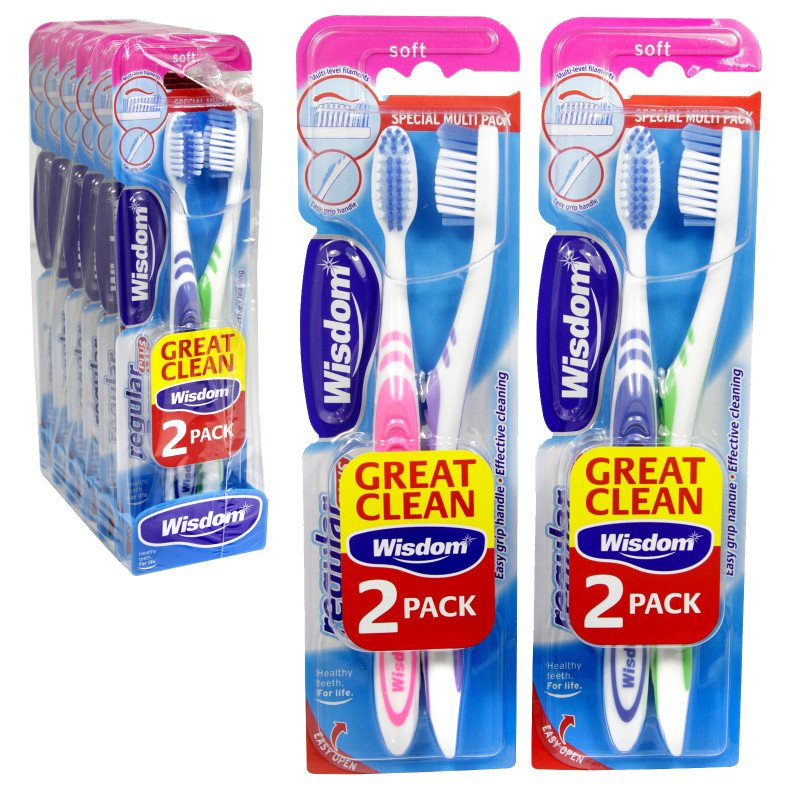 Wisdom Regular Plus Toothbrush Soft