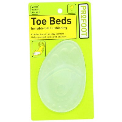 Profoot toe beds toe & ball of foot cushions womens pr
