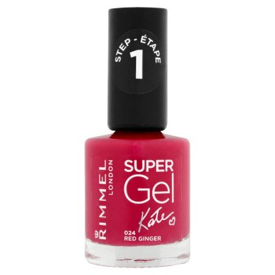 Rimmel nail care nail polish super gel red ginger