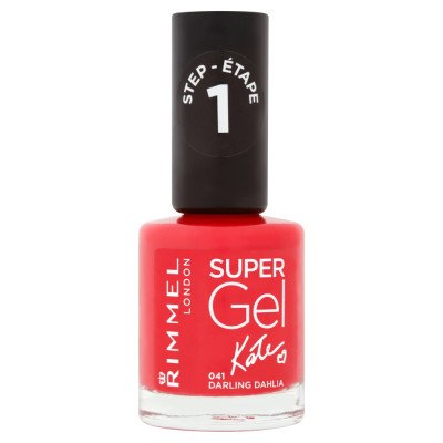 Rimmel nail care nail polish super gel darling dahlia