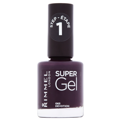 Rimmel Super Gel Nail Polish Step 1  065 devotion