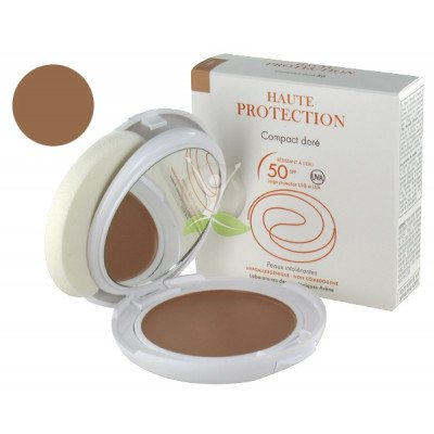 Eau thermale avene suncare range very high protection mineral compact  honey spf 50 10g