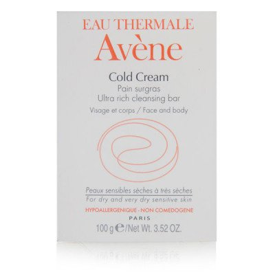 EAU THERMALE AVENE Cold Cream Ultra Rich Soap-Free Cleansing Bar, 100g