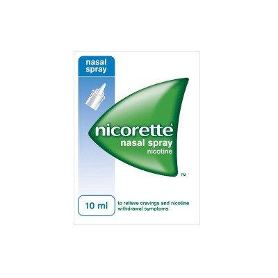 Nicorette nasal spray 0.5mg per 50iu 10ml