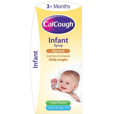 CALCOUGH infant syrup 125 ml