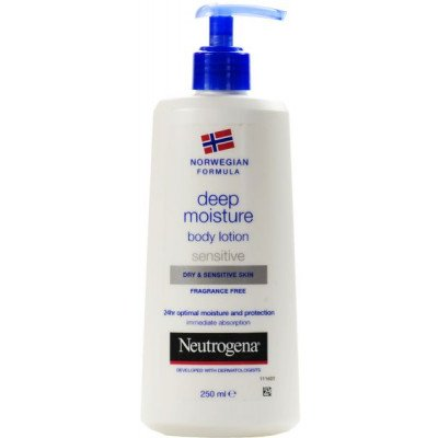Neutrogena Norwegian Formula body lotion Deep Moisturising Body Lotion Dry & Sensitive 250ml