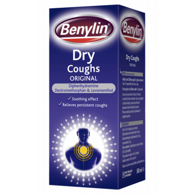Benylin dry cough syrup 150ml