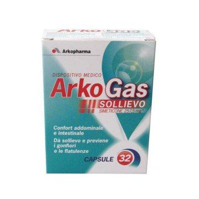 Arkopharma Arkogas 32 Capsules