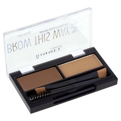 Rimmel Brow This Way Eyebrow Kit - Mid Brown
