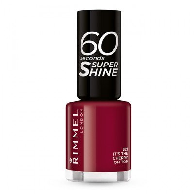 RIMMEL nail polish it's cherry on top