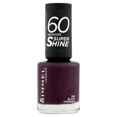 RIMMEL nail polish black cherries