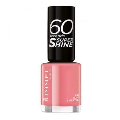 Rimmel 60 Seconds Super-Shine Nail Polish - Rose Libertine