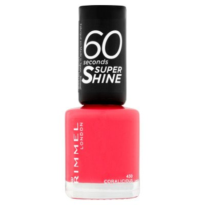 Rimmel 60 Seconds Super-Shine Nail Polish - Coralicious