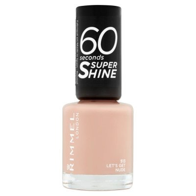 RIMMEL nail polish let's get nude