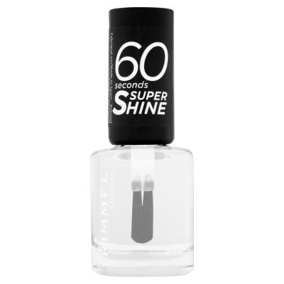 Rimmel 60 Seconds Super-Shine Nail Polish - Clear