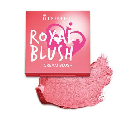 Rimmel face make-up blush royal cream shade 002