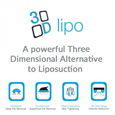 3D Lipo Radio Frequency or Dermology
