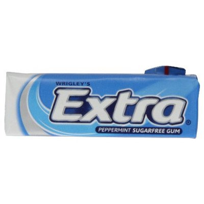 Extra sugar-free pellets chewing gum peppermint 10 pack