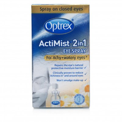 Optrex eye care Actimist 2 in 1 itchy watery eye spray 10ml