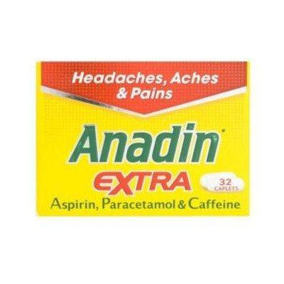 Anadin extra caplets 32 pack