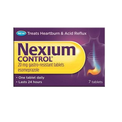 Nexium control tablets 20mg 7 pack