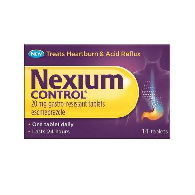 Nexium control tablets 20mg 14 pack